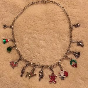Jewelry - Christmas Charm Necklace 19""
